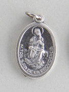 Silver Oxide Medal: Our Lady of Providence (ME02275)