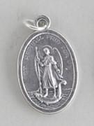 Silver Oxide Medal: St Raphael (Archangel) (ME02291)