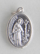 Silver Oxide Medal: St Barromeo (ME02298)