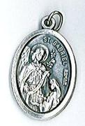 Silver Oxide Medal: St Gabriel (Archangel)(ME02292)