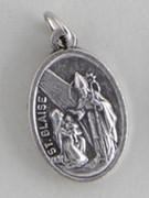 Silver Oxide Medal: St Blaise / Martin de Porres (ME022D52)