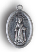 Silver Oxide Medal: St Dymphna (ME02297)