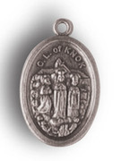 Silver Oxide Medal: Our Lady of Knock (ME02296)