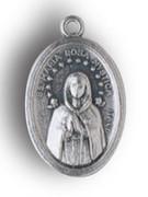 Silver Oxide Medal: Rosa Mystica (ME02242)