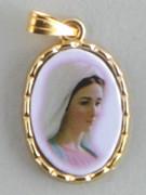 Gilt Picture Medal: MEDJUGORJE (ME9049)
