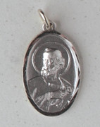 Sterling Silver Medal: St Peter (ME9764)