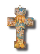 St Benedict Crucifix: Multi-Image 13cm (CR002SB)