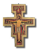 Wall Crucifix: San Damiano 105cm (CR15)