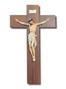 Large Wall Crucifix Resin Corpus 120cm (CR94990)