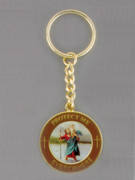 Keyring: Protect Us St Christopher