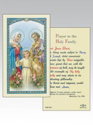 Holy Cards: 800 SERIES - Holy Family