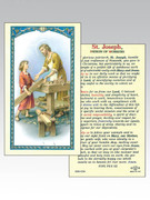 Holy Cards: 800 SERIES - St Joseph the Carpenter/Patron Workers