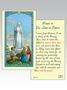 Holy Cards: 800 SERIES - O.L. of Fatima