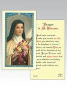 Holy Cards (each): 800 SERIES  St Theresa