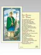 Holy Cards: 800 SERIES - St Patrick (HC8-186)