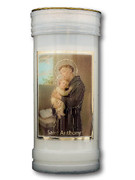 Devotional Candle, St Anthony