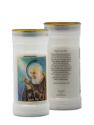Devotional Candle: Padre Pio (CA86S48)