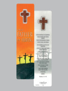 Window Charm Bookmark: Our Father