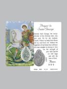 Window Charm Prayer Card: St George