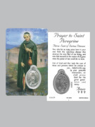 Window Charm Prayer Card: St Peregrine