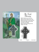 Window Charm Prayer Card: St Patrick (LC108)