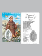 Window Charm Prayer Card: St Francis Assisi