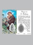 Window Charm Prayer Card: St Anthony
