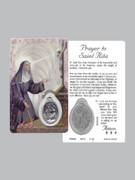 Window Charm Prayer Card: St Rita