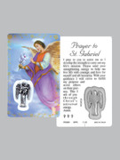 Window Charm Prayer Card, St Gabriel