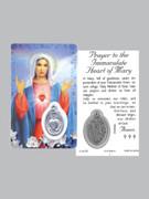 Window Charm Prayer Card, SHM