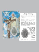 Window Charm Prayer Card: Holy Trinity (LC136)