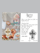 Window Charm Prayer Card: Baptism