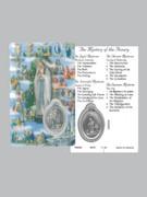 Window Charm Prayer Card: Mysteries of Rosary