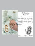 Window Charm Prayer Card: Marriage Keepsake