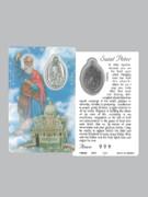 Window Charm Prayer Card: St Peter