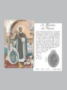Window Charm Prayer Card: St Martin de Porres (LC159)
