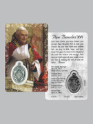 Window Charm Prayer Card: Pope Benedict XVI