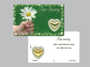 Window Charm Prayer Card: I'm Sorry