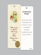 Laminated Bookmark: Communion Girl