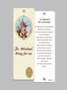 Laminated Bookmark: St Michael Archangel