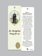 Laminated Bookmark: St Peregrine