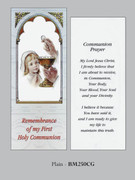 Bookmark: Girl Communion