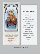 Bookmark: Immaculate Heart Mary