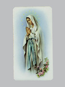 Holy Cards: Alba Series - OL Lourdes