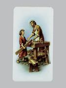 Holy Cards: Alba Series - St Joseph Carpenter