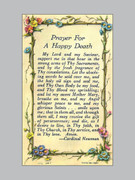 Holy Verse Cards (pkt100) Prayer Happy Death