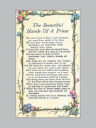 Holy Verse Cards (pkt100) Hands of a Priest