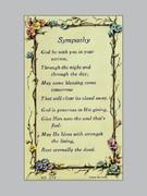 Holy Verse Cards (pkt100): Sympathy