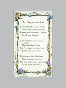 Holy Verse Cards (pkt100): In Appreciation