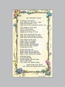 Laminated Holy Verse Cards: My Pocket Dove